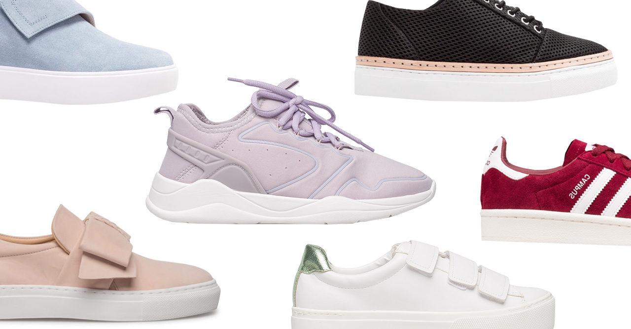 20 snygga sneakers till våren och sommaren 2018