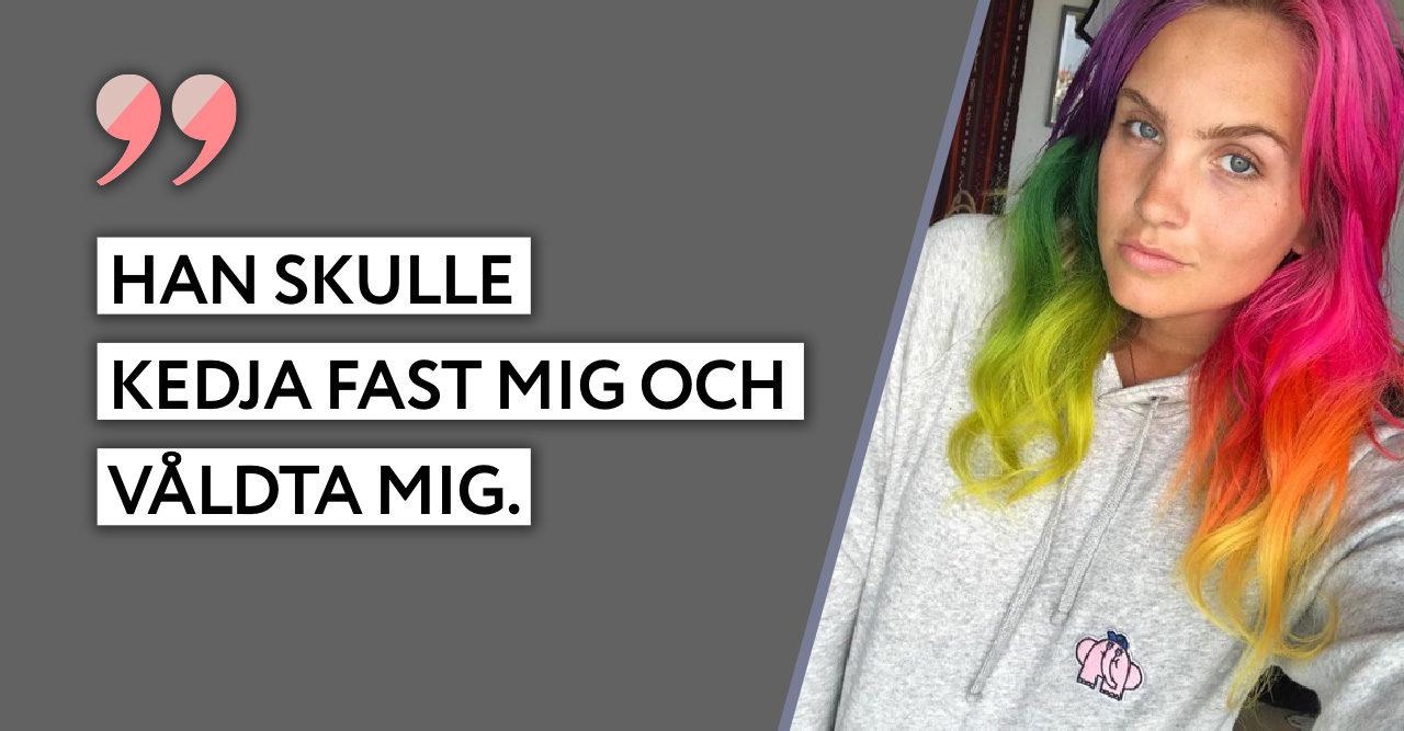 Linnea Claesson efter fällande domen: