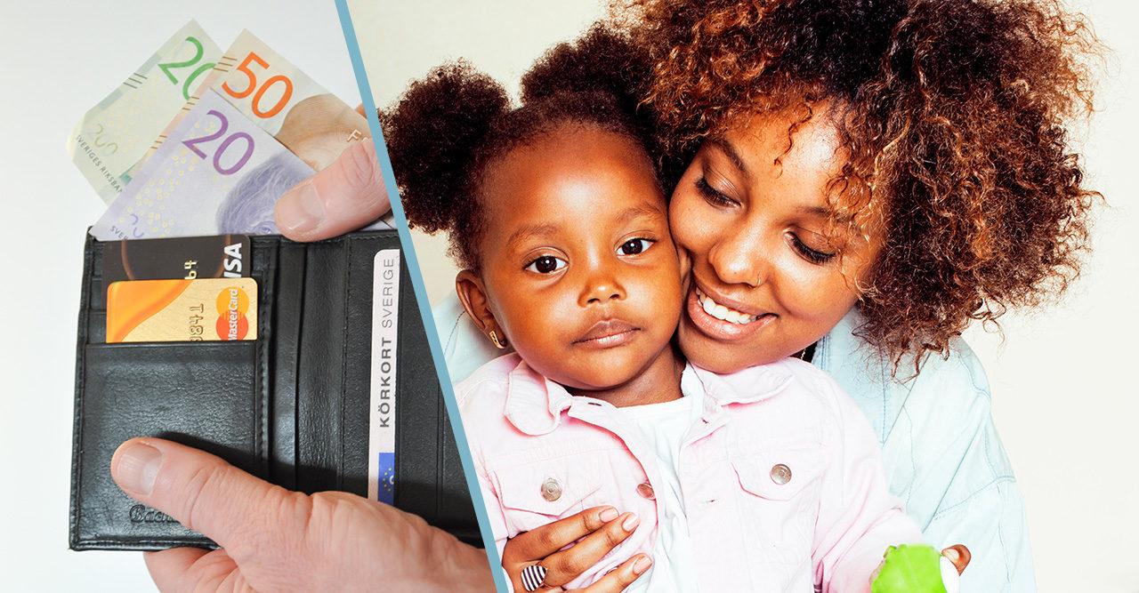 Nu får ensamstående föräldrar mer pengar i plånboken