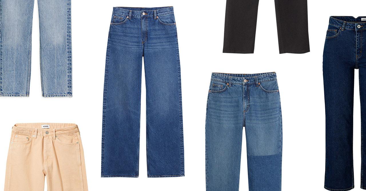 77e0ade51ff2 25 snygga jeans i olika modeller till hösten 2018 | Baaam