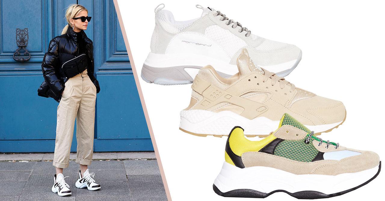 c2d2170f 10 supertrendiga chunky sneakers till hösten 2018 | Baaam