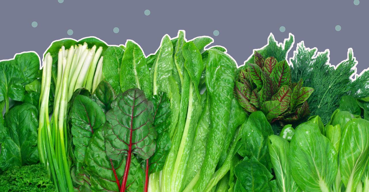 6 gröna bladgrönsaker som faktiskt är nyttigare än grönkål