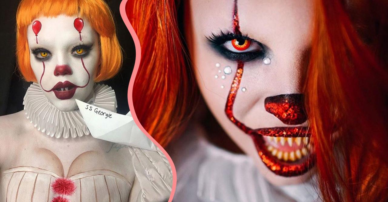 Halloween Sminkningar Clown.Clownsminkningar Till Halloween Baaam