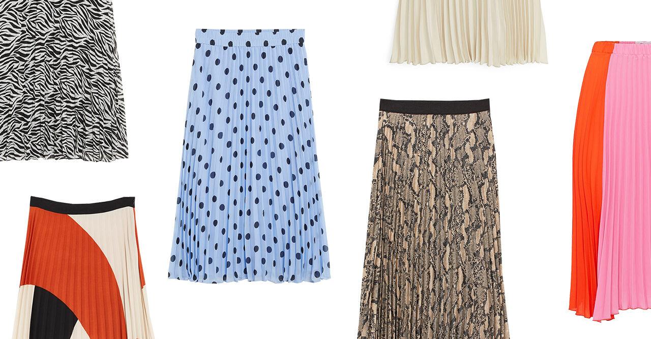 Vårmode 2019: 20 plisserade kjolar för alla plånböcker | Baaam