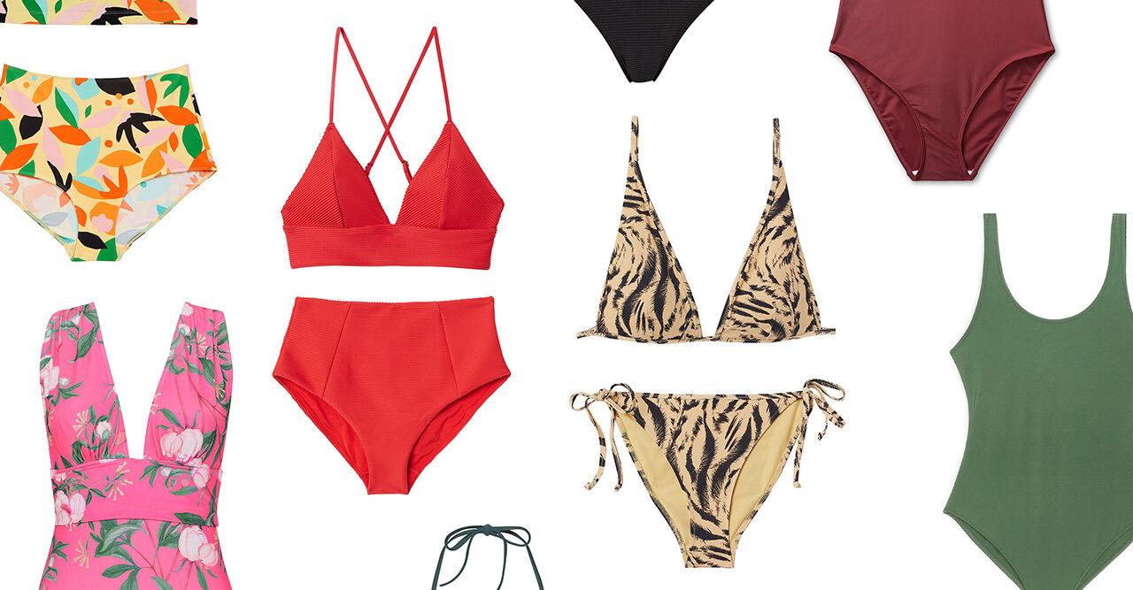 bikini och baddräkter