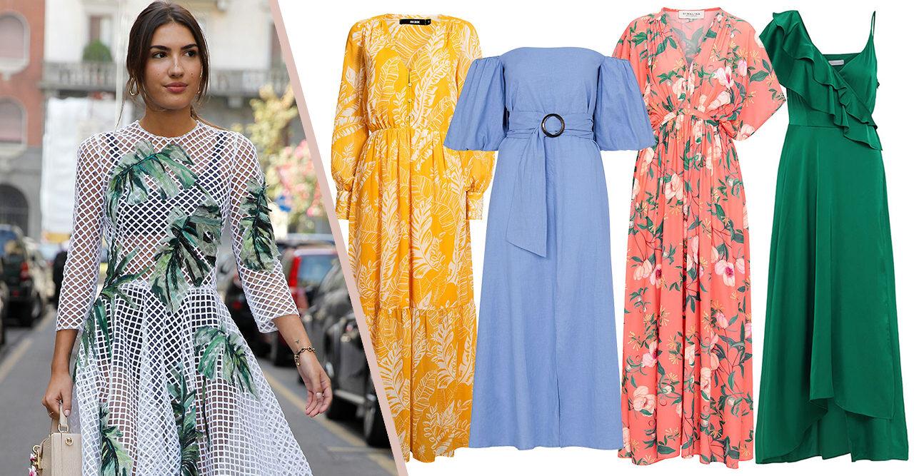 4741a458d5d4 30 fina klänningar till sommarens bröllop | Baaam