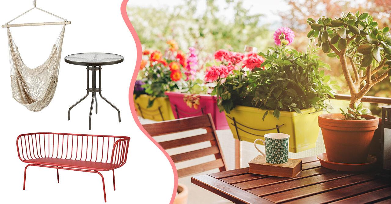 8eecc9151dfb 11 budgetmöbler som gör din balkong mysig och redo för sommaren | Baaam