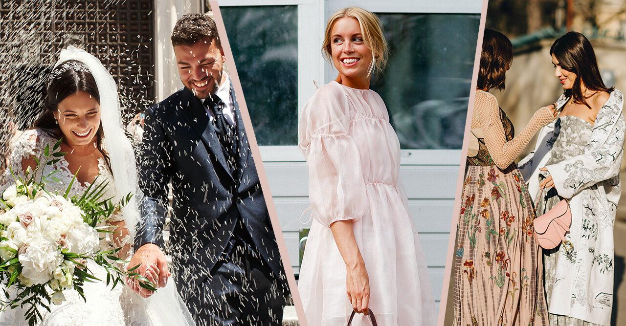 färg klänning gäst bröllop