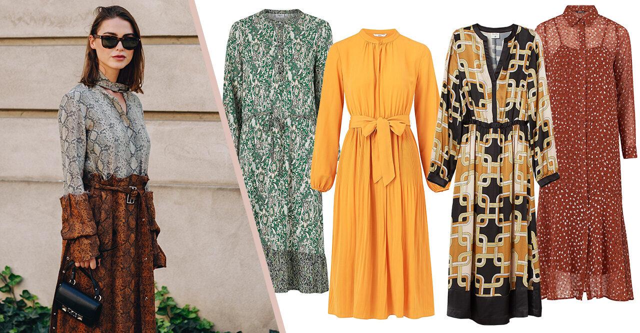 25 snygga klänningar till hösten 2019 | Baaam