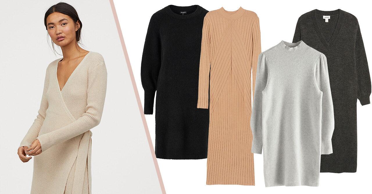 17 stickade klänningar till hösten 2019 | Baaam