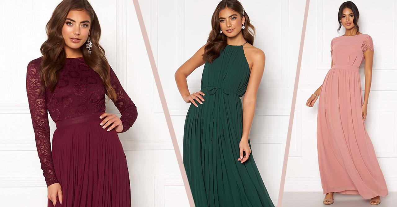 billig brudtärne klänning