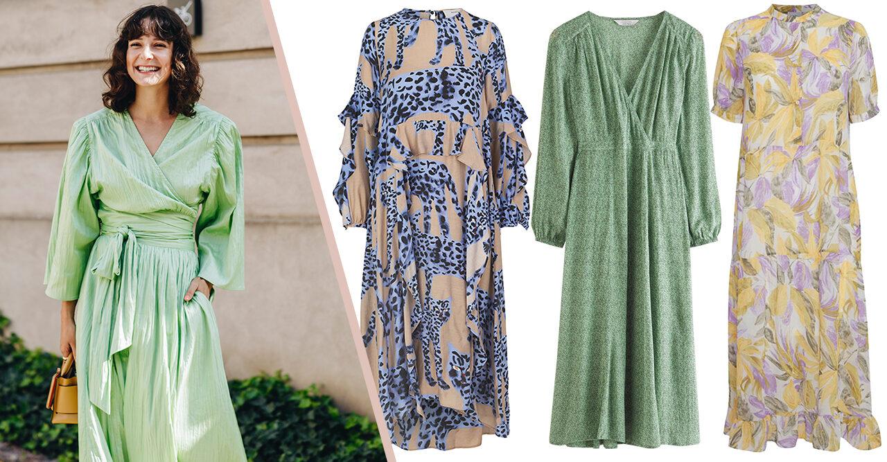 snygga sommar klänningar