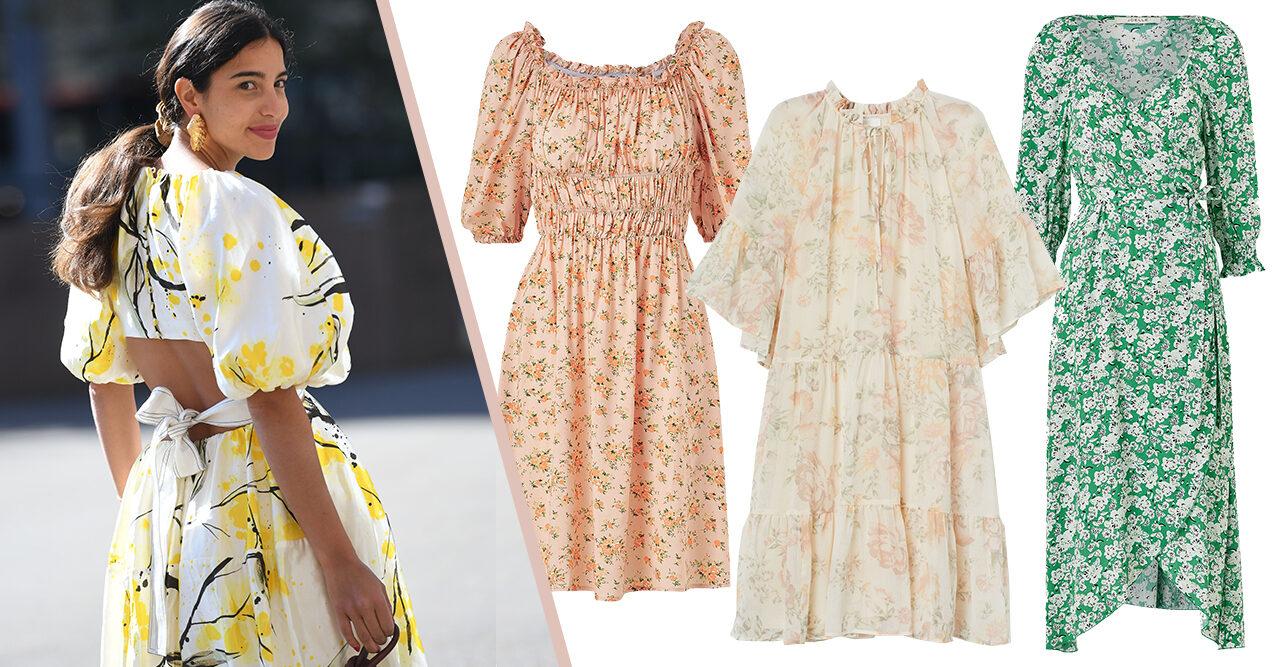 Blommiga klänningar till sommaren 2020 – 15 fina köp | Baaam