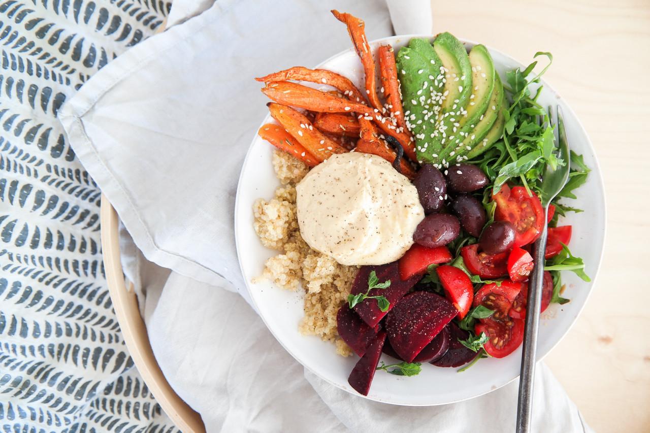 vegansk middag recept
