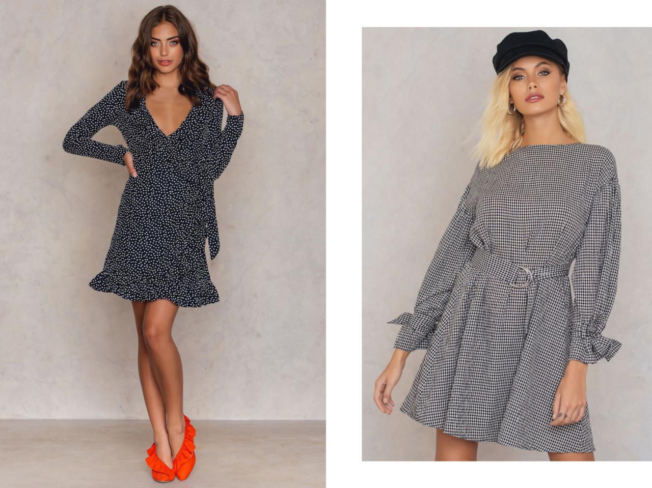 Här har vi två lite gulligare klänningar då då! Men den vänstra  omlottvarianten (reklamlänk via Apprl) är ju en klassiker  prickig och  volangig ( cute) men ... c40867b6ce5aa