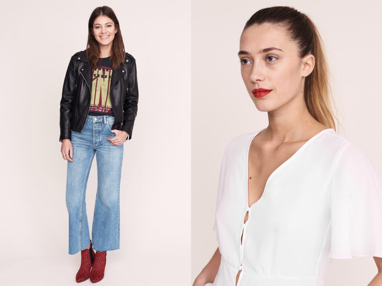 Ultimata jeans (reklamlänk via Apprl) och HÄRLIG blus (reklamlänk via Apprl)  från Gina Tricot. e8b38bd732390