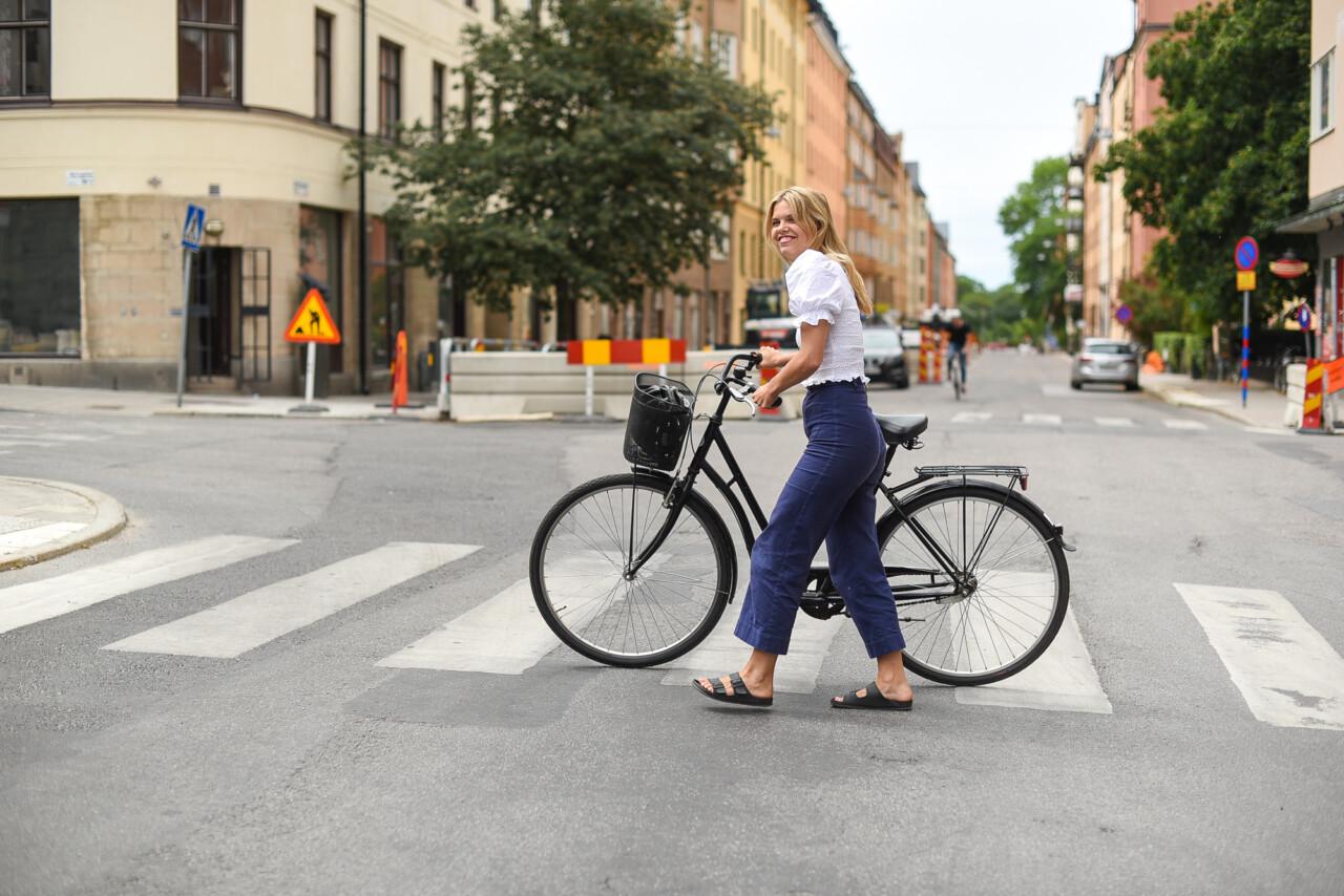 Tisdagen på cykeln