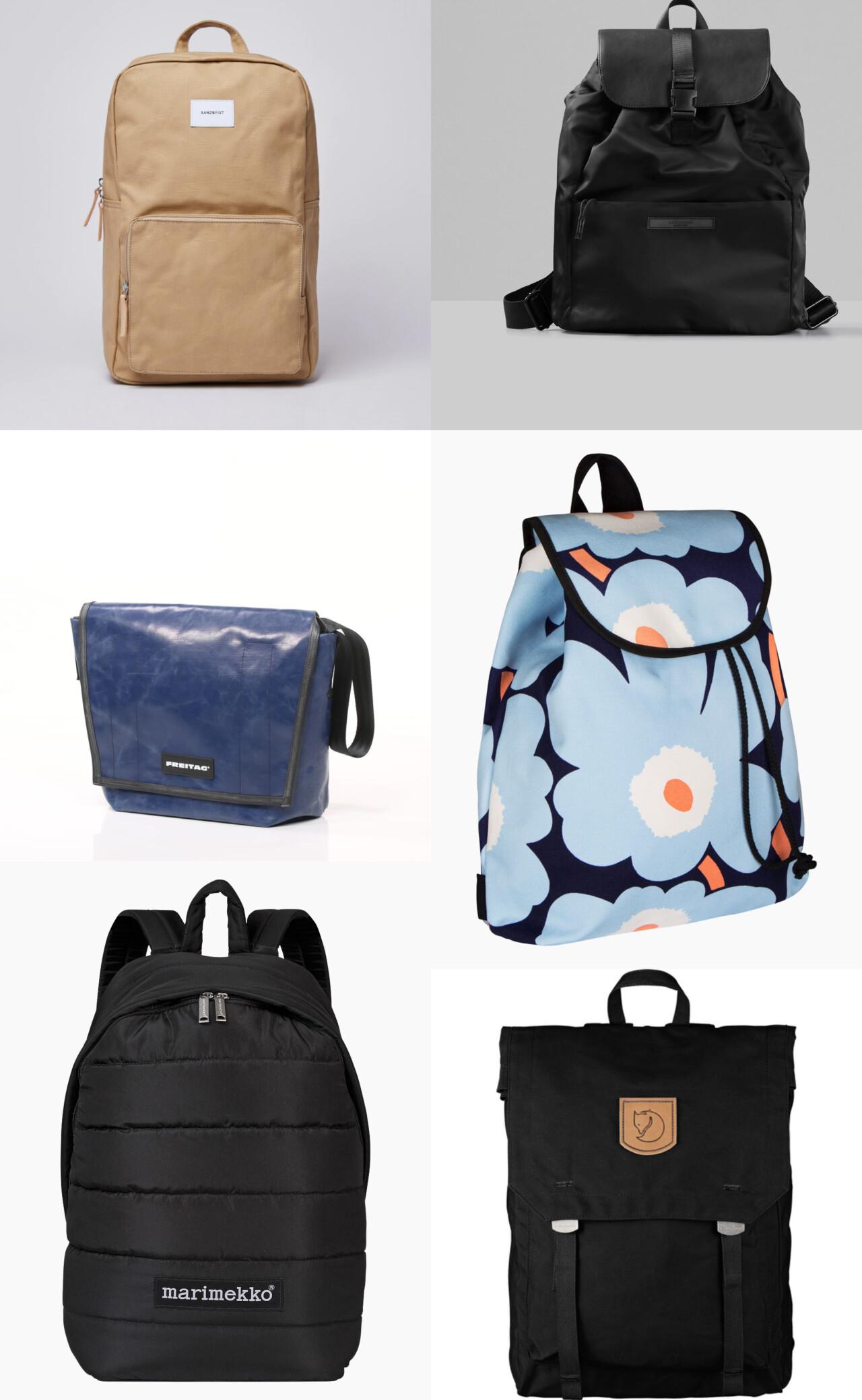 Q&A om ryggsäckar, stress & att våga börja plugga