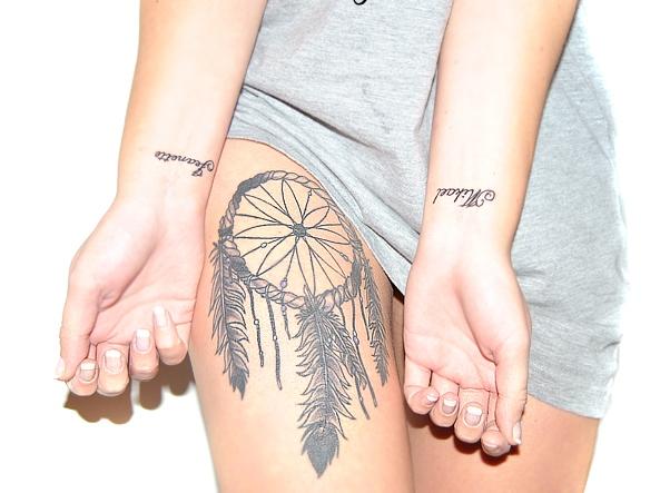 symbol för styrka tatuering