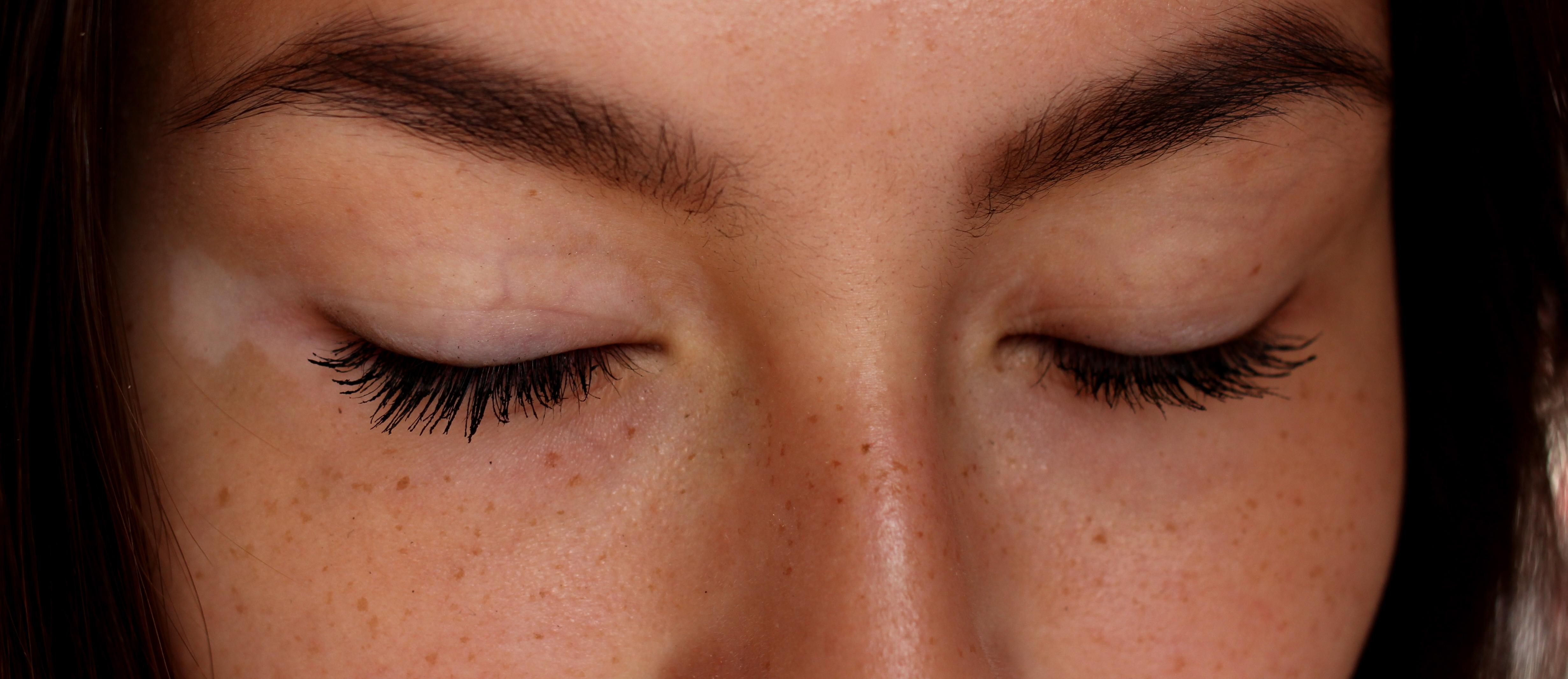 för långa ögonfransar