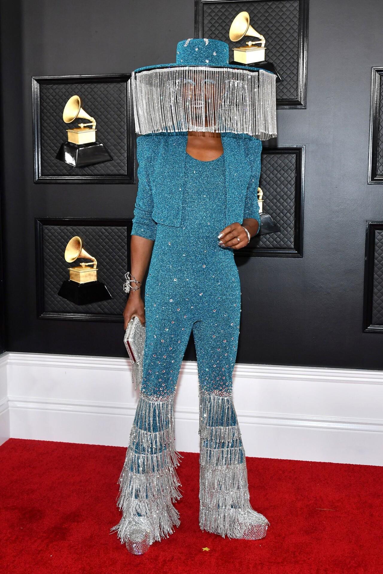 Röda mattan: The Grammys 2020   Kristin Zetterlund
