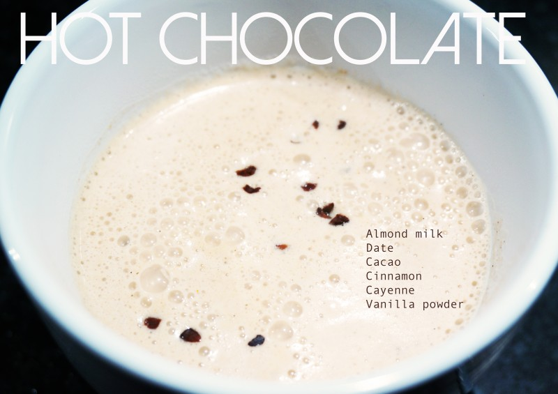mandelmjölk choklad recept