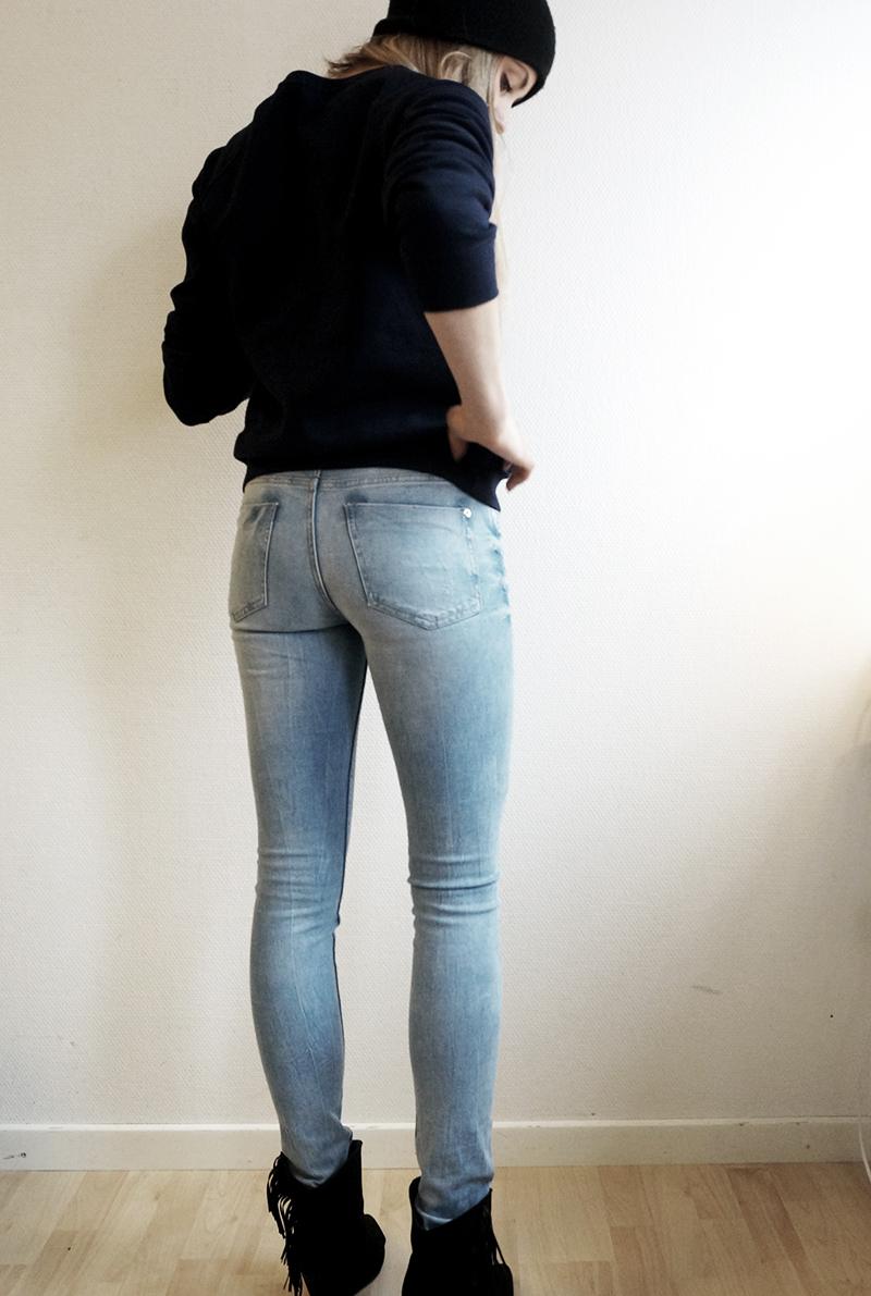 snyggaste jeansen för tjejer