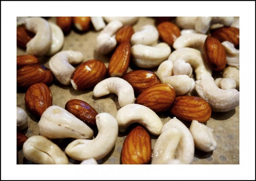 ont i magen av cashewnötter