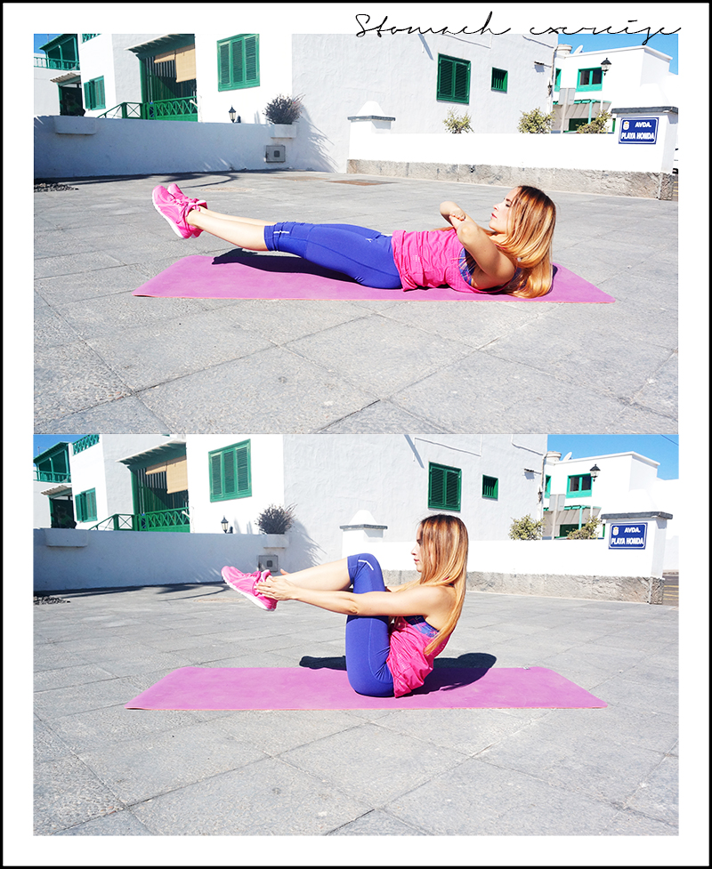 stomach exercise