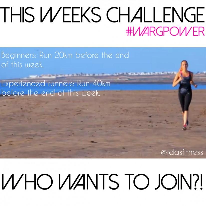 veckans utmaning löpning