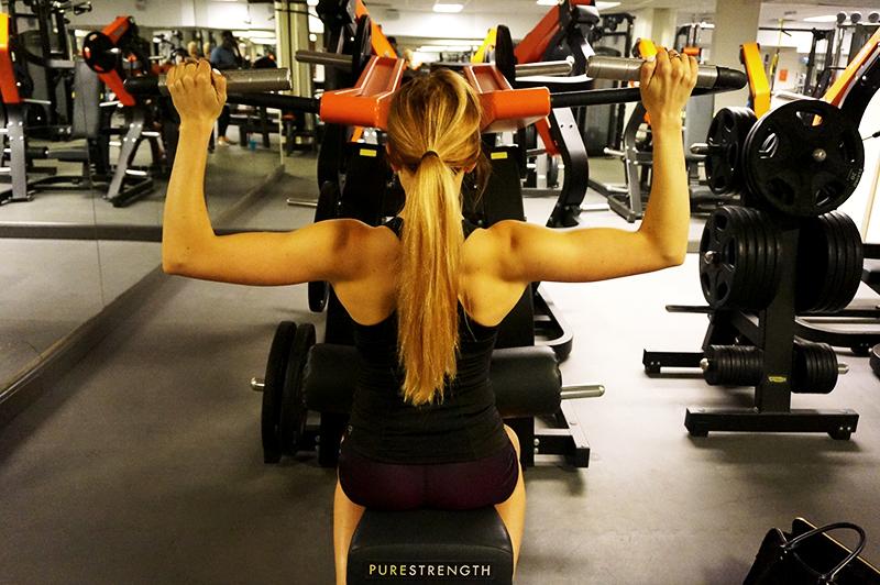 träna ryggen gym