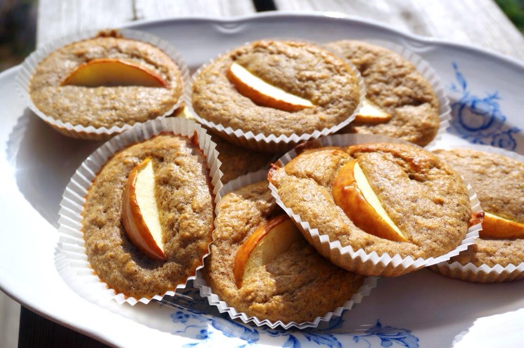 nyttiga muffins mandelmjöl