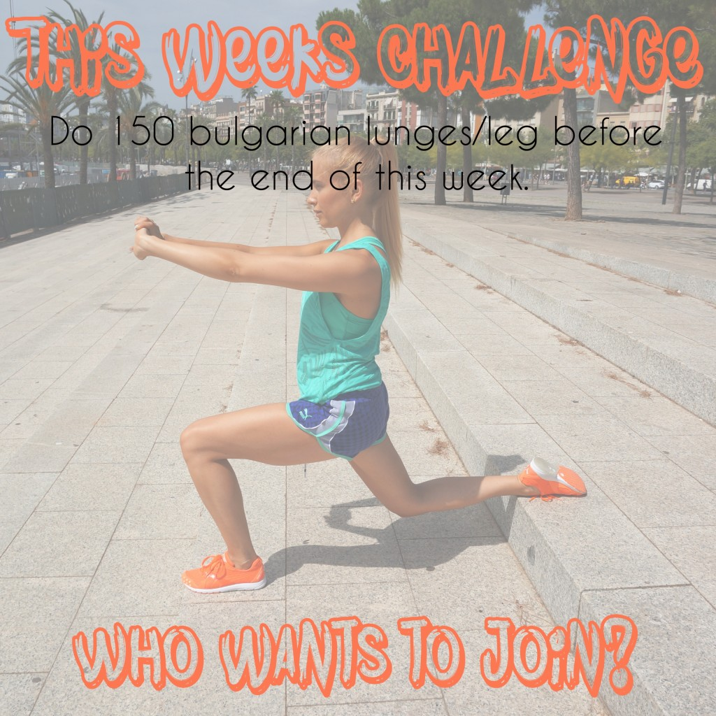 bulgrian lunges