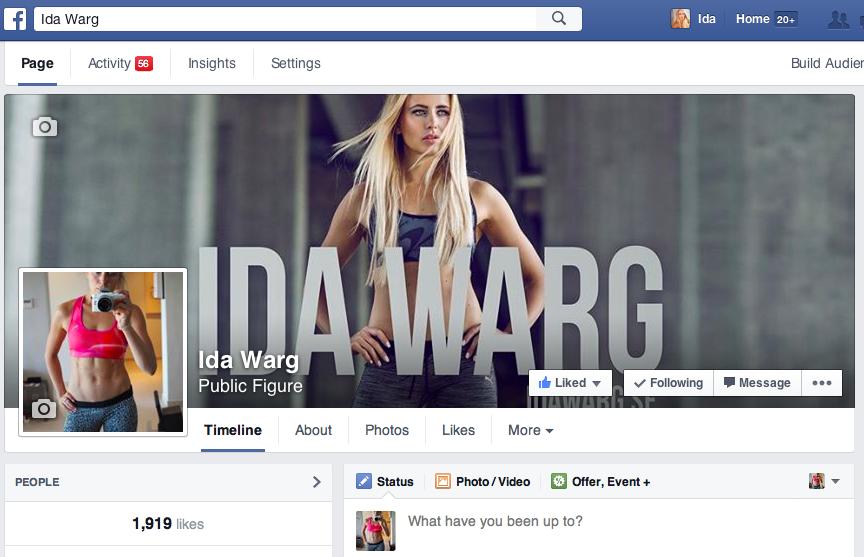 Ida Warg facebook