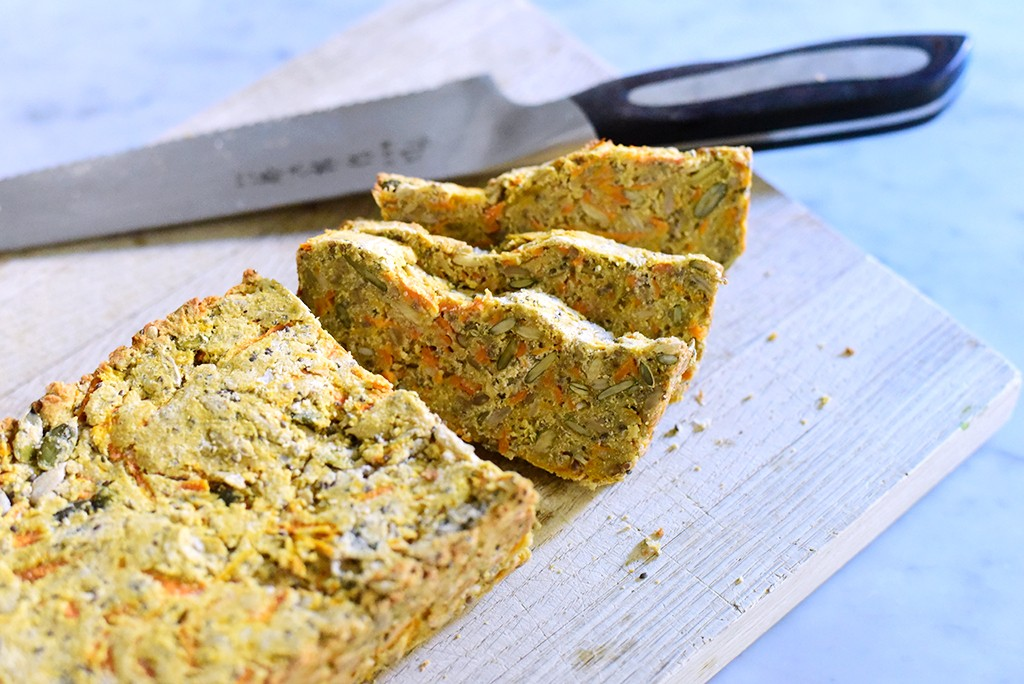 glutenfritt bröd med morot