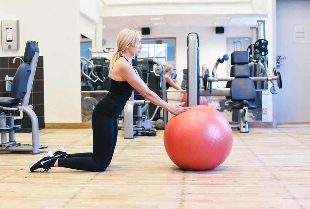 fallkniv pilates boll