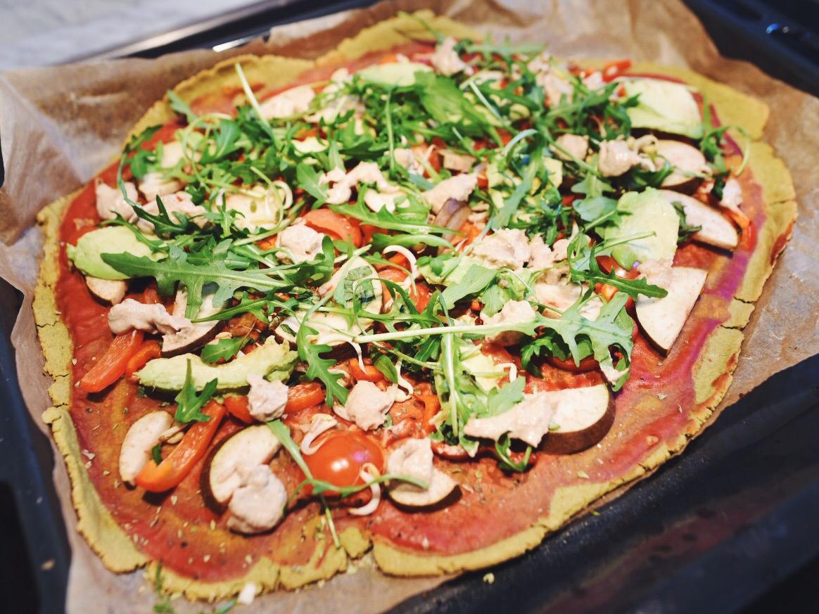 glutenfri pizzabotten recept