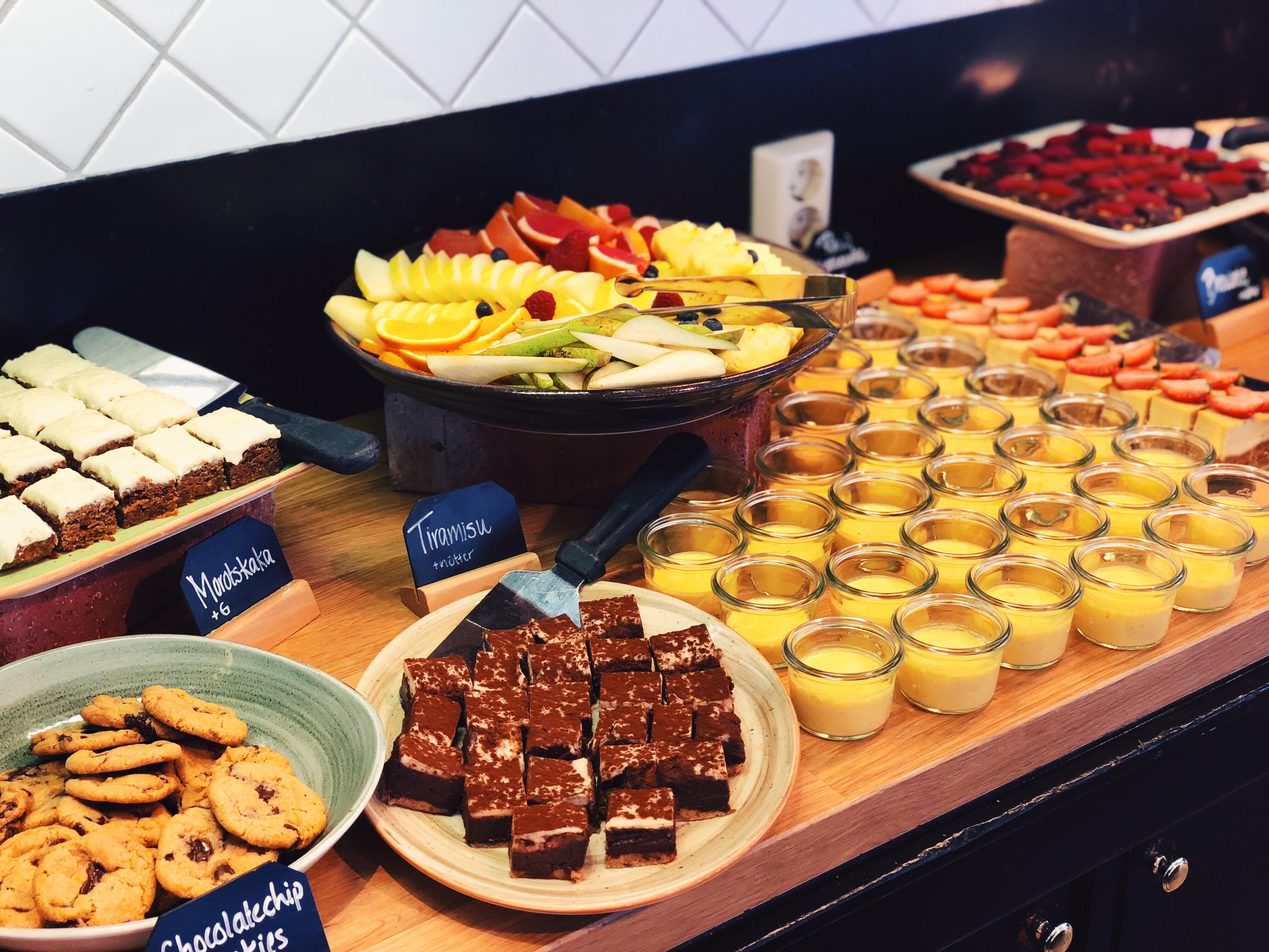 vegansk brunch buffe vegan stockholm restaurang Radisson hagaparken