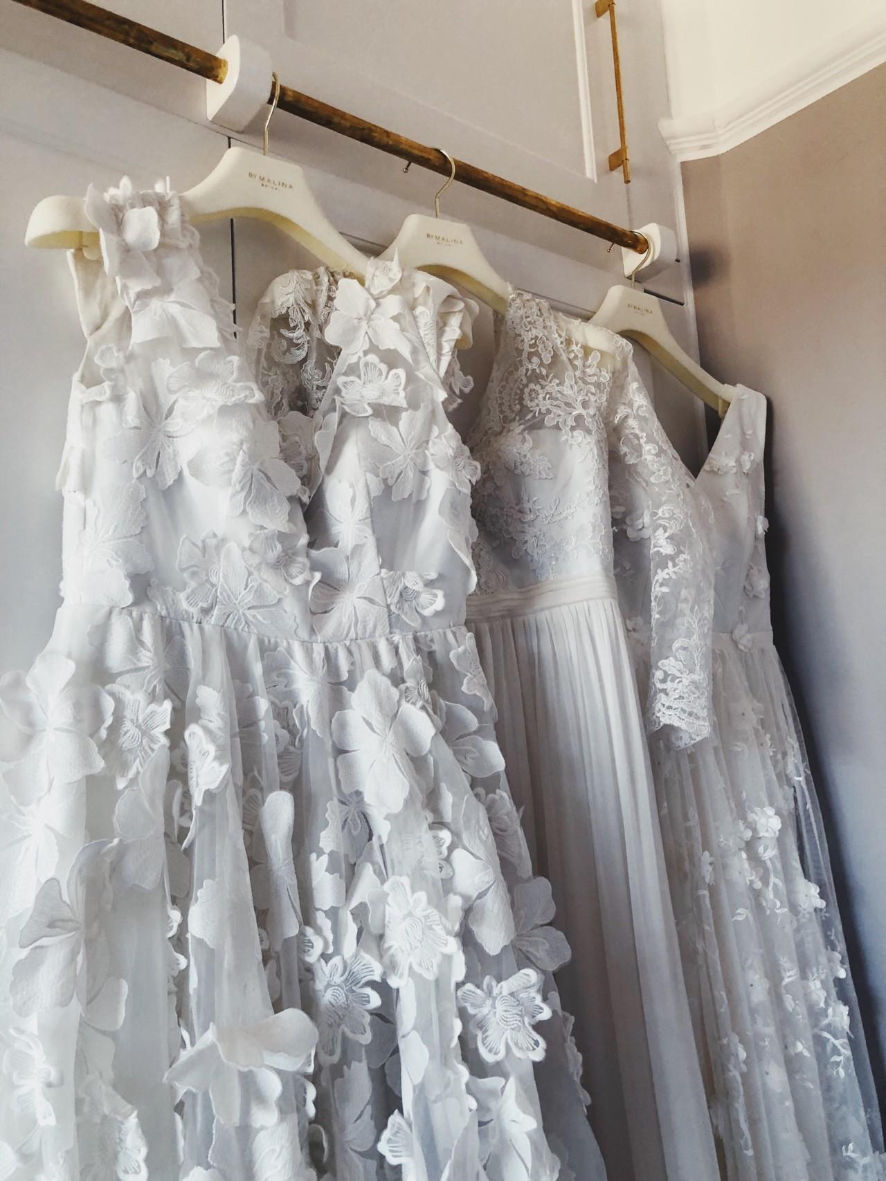 bröllopsklänning, brudklänning by malina