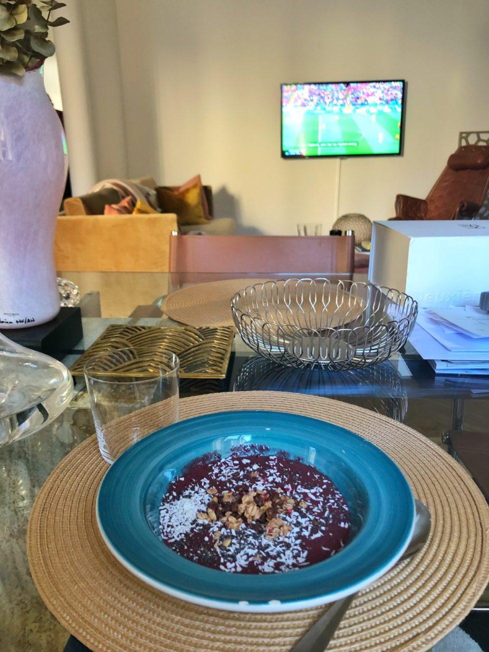 Smoothie Bowl med jordnötssmör