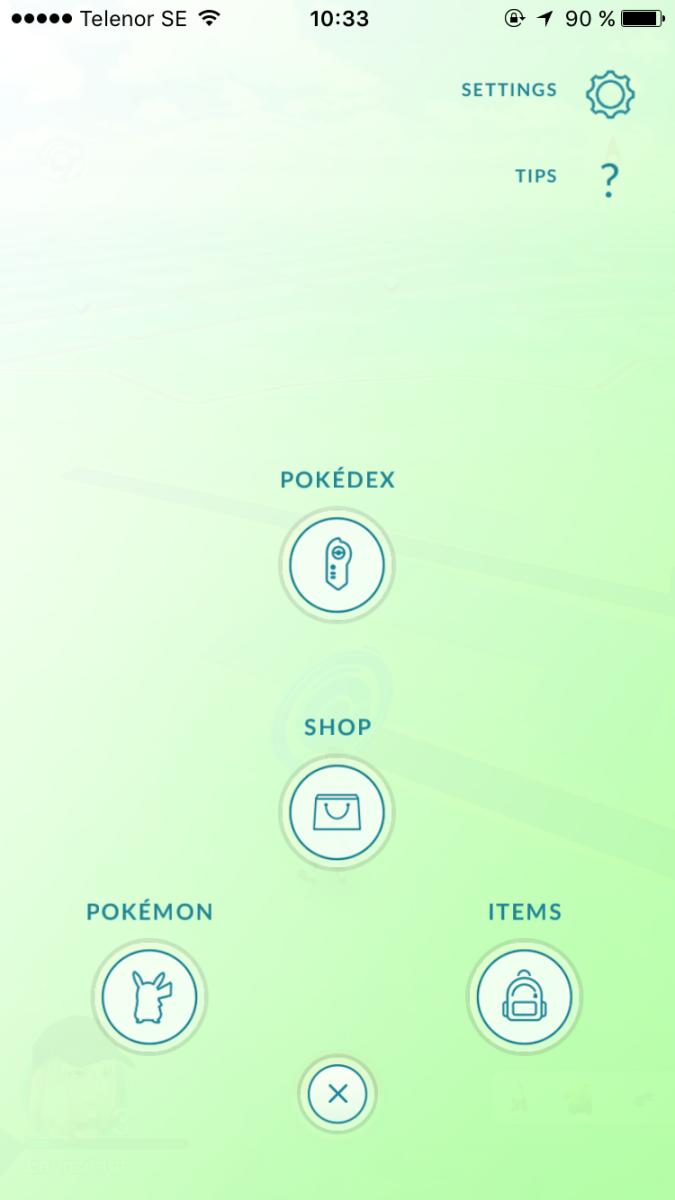 Pokemon go spelar id