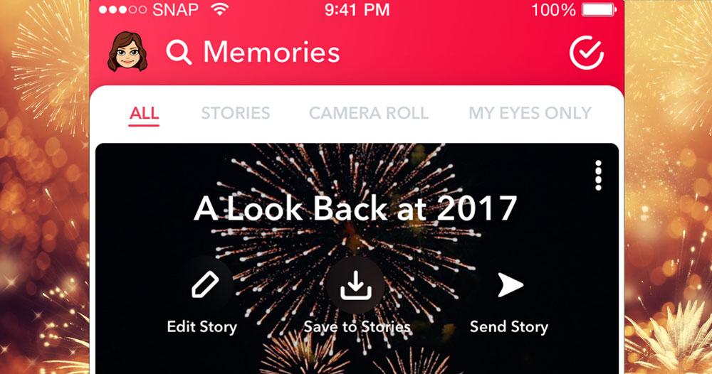 Nu kan du sammanfatta ditt år på Snapchat – så gör du | Frida