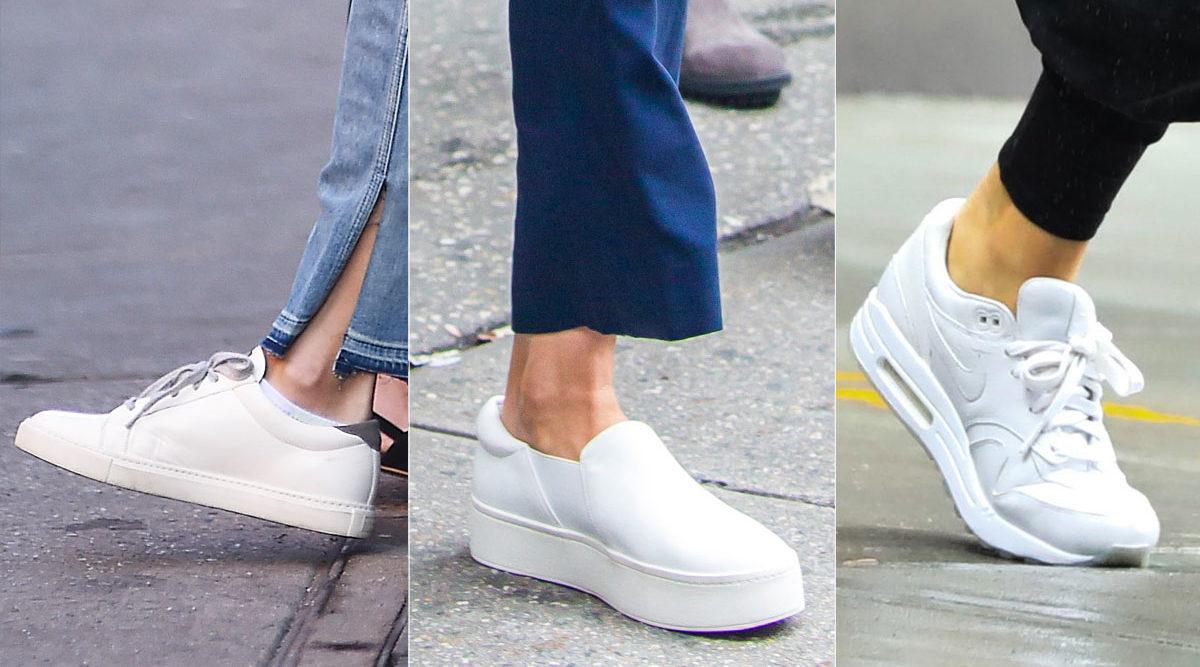 hålla vita skor vita