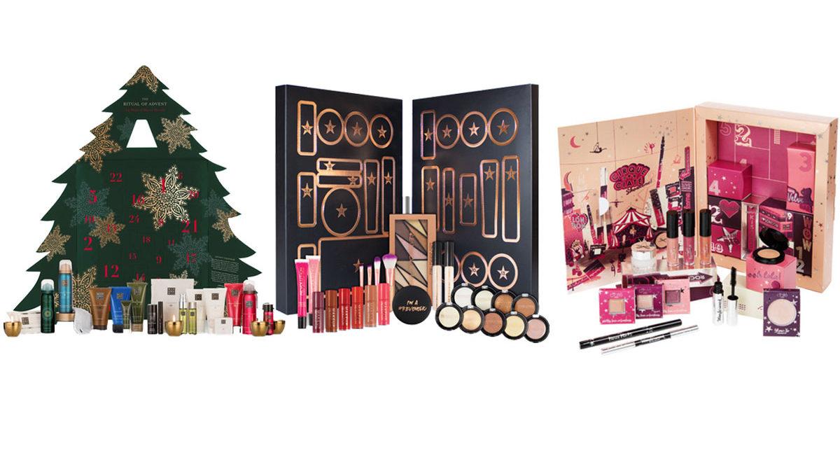 12 lyxiga adventskalendrar fyllda med skönhetsprodukter