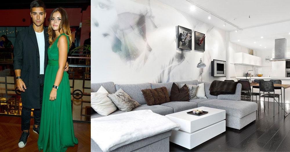 Eric Saade och Nicole Falciani säljer sin lägenhet – se bilderna här