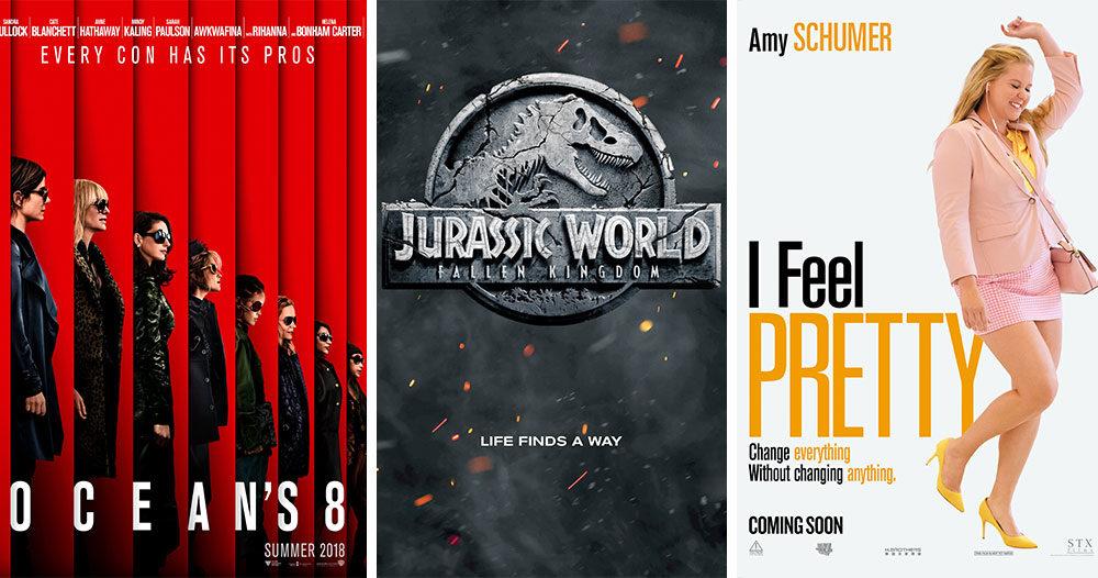 Biofilmerna som har premiär sommaren 2018