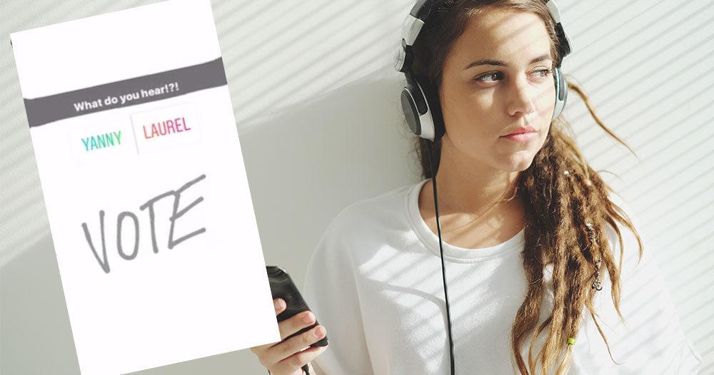 Yanny Eller Laurel Lyssna På Ljudklippet Där Olika Personer Hör