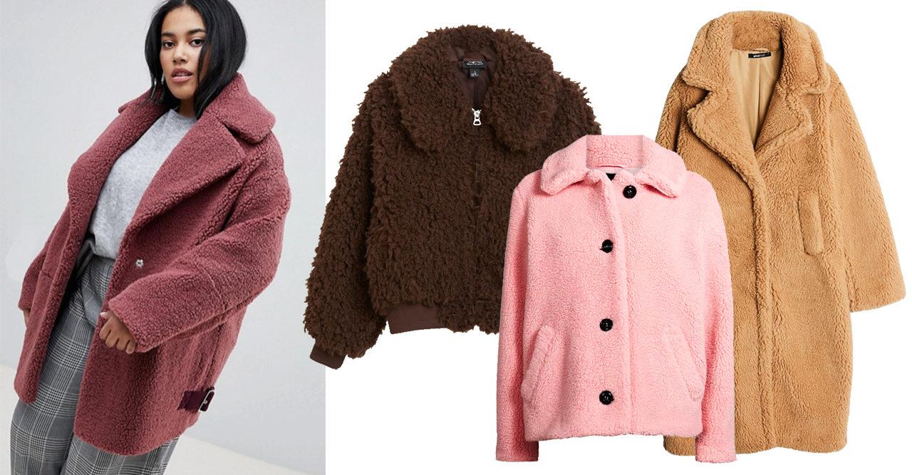 13 teddyjackor att ta på sig när det är kallt ute | Frida