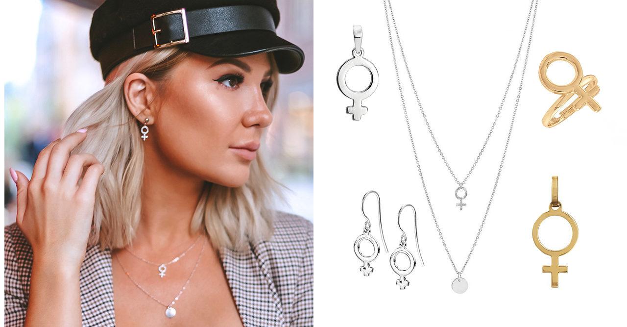 19 fina smycken med kvinnosymbolen – här hittar du dem  b1c6e49ae8a69
