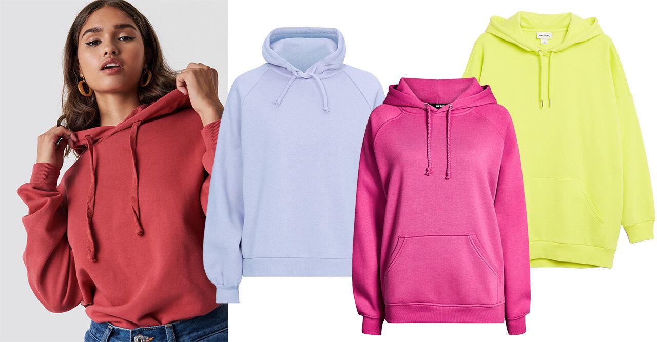 Våga färg! 10 trendiga hoodies som lyfter din outfit | Frida